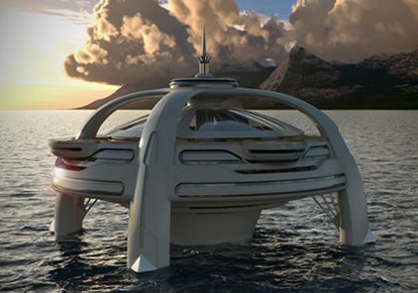 5 keisčiausios koncepcinės jachtos