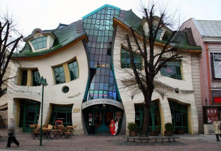 5 Keisčiausi pastatai pasaulyje